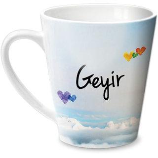 Hot Muggs Simply Love You Geyir Conical Ceramic Mug 350ml