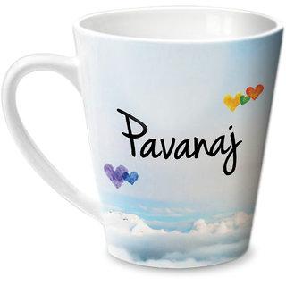 Hot Muggs Simply Love You Pavanaj Conical Ceramic Mug 350ml