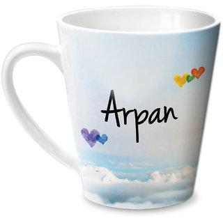 Hot Muggs Simply Love You Arpan Conical Ceramic Mug 350ml