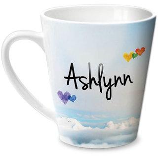Hot Muggs Simply Love You Ashlynn Conical Ceramic Mug 350ml