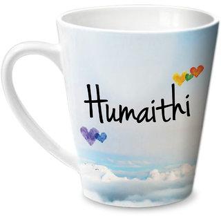 Hot Muggs Simply Love You Humaithi Conical Ceramic Mug 350ml