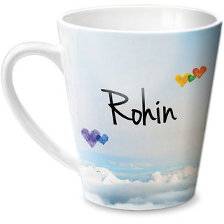 Hot Muggs Simply Love You Rohin Conical Ceramic Mug 350ml