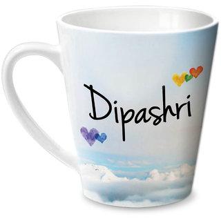 Hot Muggs Simply Love You Dipashri Conical Ceramic Mug 350ml