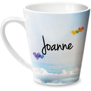Hot Muggs Simply Love You Joanne Conical Ceramic Mug 350ml