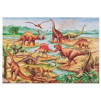 Melissa And Doug Dinosaurs Floor Jigsaw Puzzle - 48 Pieces
