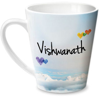 Hot Muggs Simply Love You Vishwanath Conical Ceramic Mug 350ml