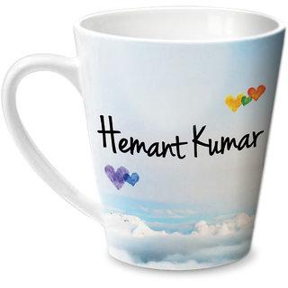 Hot Muggs Simply Love You Hemant Kumar Conical Ceramic Mug 350ml