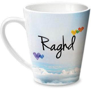 Hot Muggs Simply Love You Raghd Conical Ceramic Mug 350ml