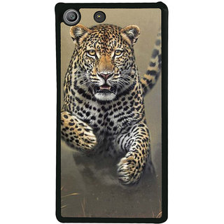 Ayaashii Running Tiger Back Case Cover for Sony Xperia M5 Dual E5633 E5643 E5663:: Sony Xperia M5 E5603 E5606 E5653