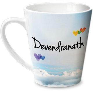 Hot Muggs Simply Love You Devendranath Conical Ceramic Mug 350ml