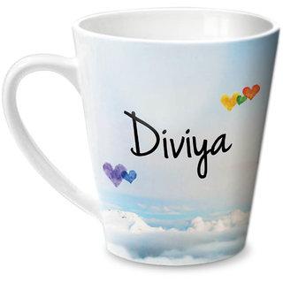 Hot Muggs Simply Love You Diviya Conical Ceramic Mug 350ml