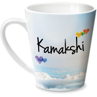 Hot Muggs Simply Love You Kamakshi Conical Ceramic Mug 350ml