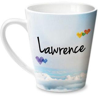 Hot Muggs Simply Love You Lawrence Conical Ceramic Mug 350ml