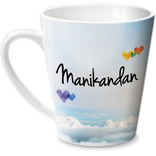 Hot Muggs Simply Love You Manikandan Conical Ceramic Mug 350ml