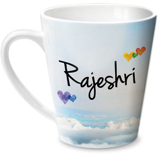 Hot Muggs Simply Love You Rajeshri Conical Ceramic Mug 350ml