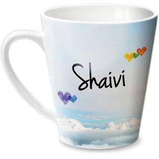 Hot Muggs Simply Love You Shaivi Conical Ceramic Mug 350ml