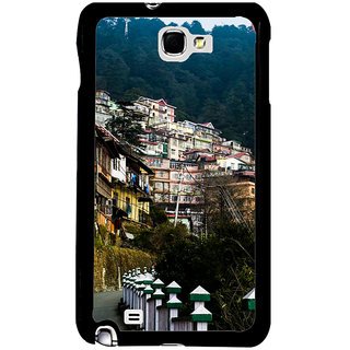 Ayaashii Natural Click Back Case Cover for Samsung Galaxy Note 2::Samsung Galaxy Note 2 N7100
