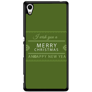 Ayaashii Merry Chirstmas Wishes Back Case Cover for Sony Xperia Z4 Mini::Sony Xperia Z4 Compact