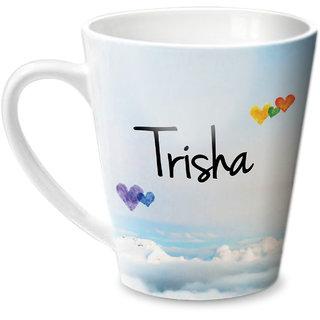 Hot Muggs Simply Love You Trisha Conical Ceramic Mug 350ml