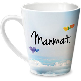Hot Muggs Simply Love You Manmat Conical Ceramic Mug 350ml