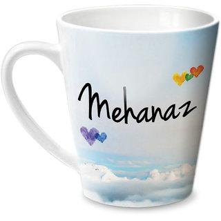 Hot Muggs Simply Love You Mehanaz Conical Ceramic Mug 350ml