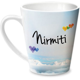 Hot Muggs Simply Love You Nirmiti Conical Ceramic Mug 350ml