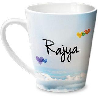 Hot Muggs Simply Love You Rajya Conical Ceramic Mug 350ml