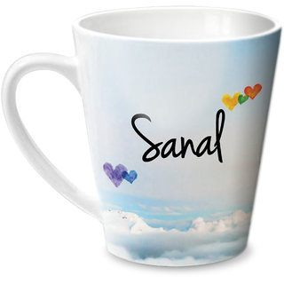 Hot Muggs Simply Love You Sanal Conical Ceramic Mug 350ml