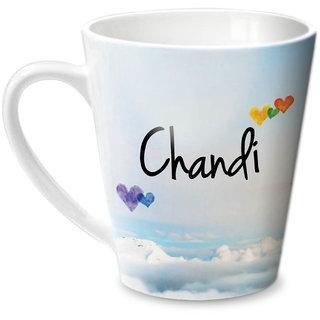 Hot Muggs Simply Love You Chandi Conical Ceramic Mug 350ml