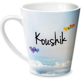 Hot Muggs Simply Love You Koushik Conical Ceramic Mug 350ml