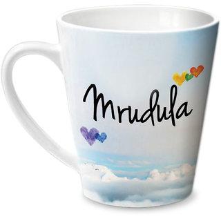 Hot Muggs Simply Love You Mrudula Conical Ceramic Mug 350ml