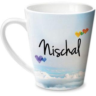 Hot Muggs Simply Love You Nischal Conical Ceramic Mug 350ml