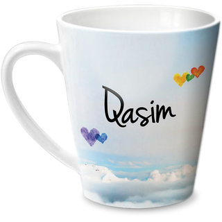 Hot Muggs Simply Love You Qasim Conical Ceramic Mug 350ml