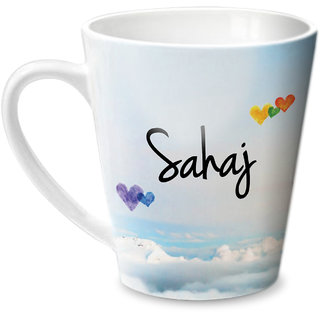 Hot Muggs Simply Love You Sahaj Conical Ceramic Mug 350ml