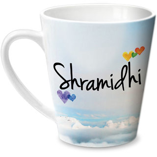 Hot Muggs Simply Love You Shramidhi Conical Ceramic Mug 350ml