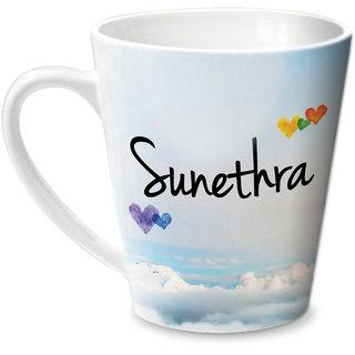 Hot Muggs Simply Love You Sunethra Conical Ceramic Mug 350ml
