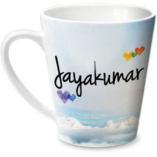 Hot Muggs Simply Love You Jayakumar Conical Ceramic Mug 350ml