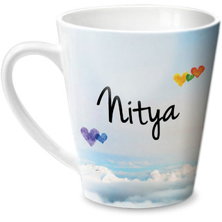 Hot Muggs Simply Love You Nitya Conical Ceramic Mug 350ml