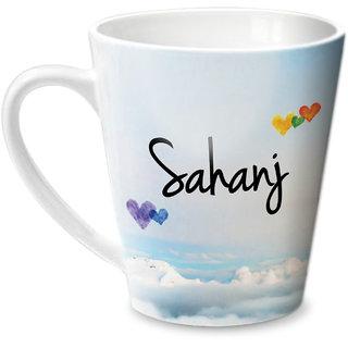 Hot Muggs Simply Love You Sahanj Conical Ceramic Mug 350ml