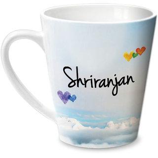 Hot Muggs Simply Love You Shriranjan Conical Ceramic Mug 350ml