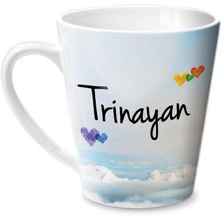 Hot Muggs Simply Love You Trinayan Conical Ceramic Mug 350ml
