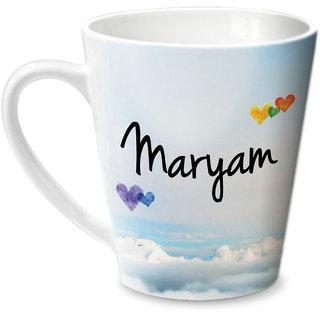 Hot Muggs Simply Love You Maryam Conical Ceramic Mug 350ml