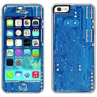 Flapsta iPhone5/5s Gel Case +Front Gel Skin/ Circuit Board
