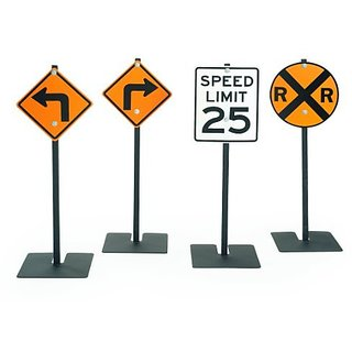 Angeles 2 Set Traffic Sign