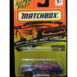 Nissan 300-ZX Matchbox (blue-gray) Super Fast Series #61