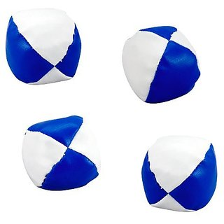 Blue and White Toss Balls (12 count)