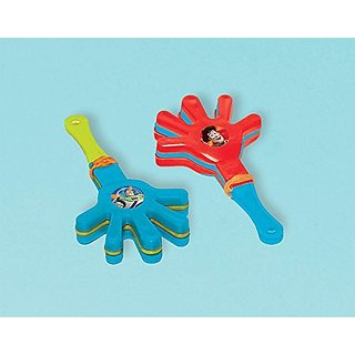 Amscan Toy Story Power Up Birthday Party Mini Hand Clapper Favor, 3