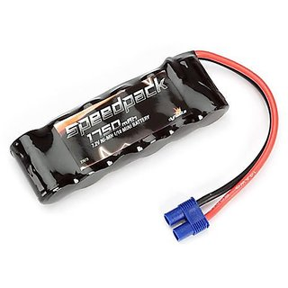Dynamite 7.2V 1750mAh NiMH 6C Flat Battery EC3: Minis Battery