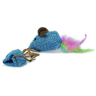 OurPets Play-N-Squeak Wee Catch of the Day Kitten Toy