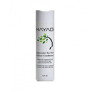 Hayadi Peppermint Tea Tree Conditioner, Peppermint, 10 Ounce